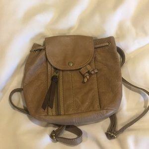 Fossil mini backpack
